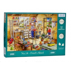 No.14 -Fred's shed, Hop Puzzels1000st