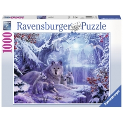 Wolven in de winter 1000stukjes Ravensburger