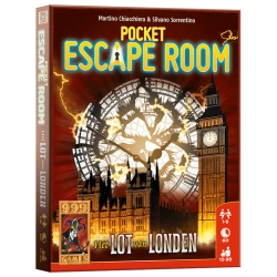 Pocket Escape Room -Londen kaartspel