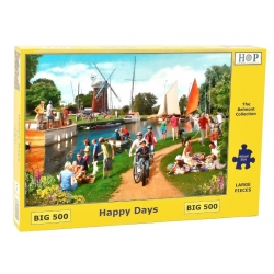 Happy Days, Hop Puzzels 500 XL stukjes