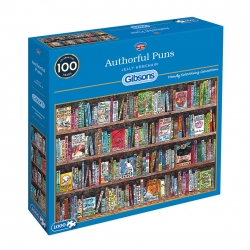 Authorful Puns - Jelly Airmchair Ltd. (1000) Gibsons