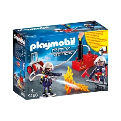 Playmobil City Action 9468 Brandweerteam met waterpomp