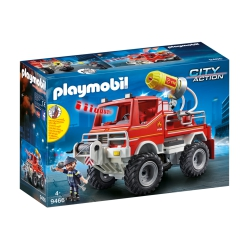 Playmobil City Action 9466 Brandweer treinwagen met waterkanon