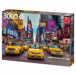 New York Taxis (3000stukjes)