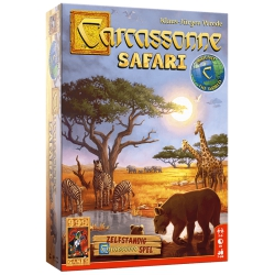 Carcassonne Safari bordspel