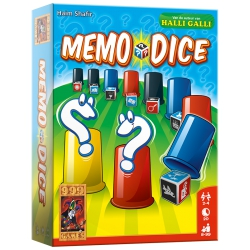 Memo Dice - Dobbelspel, 999games