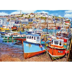 Mevagissey Harbour (500XL) gibsons