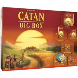 Catan BIG box ,999 games