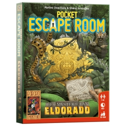 Pocket Escape Room: Eldorado - Kaartspel, 999games