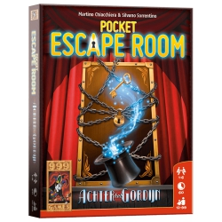 Pocket Escape Room: Achter het Gordijn - Kaartspel, 999games