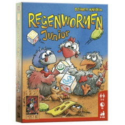 Regenwormen Junior - Dobbelspel, 999games
