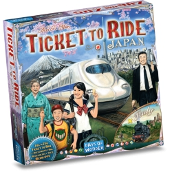 Ticket to Ride Japan/Italie - Bordspel, Asmodee