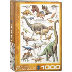 Dinosaurs of the Jurassic, Eurographics 1000stukjes