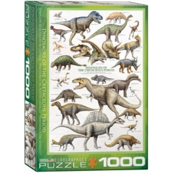 Dinosaurs of the Cretaceous, Eurographics 1000stukjes