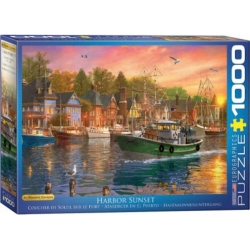 Harbor Sunset, Eurographics 1000stukjes