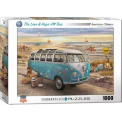 The Love & Hope VW Bus, Eurographics 1000stukjes