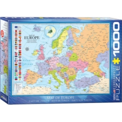 Map of Europe, Eurographics 1000stukjes