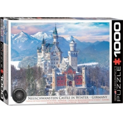 Neuschwanstein Castle in Winter, Eurographics 1000stukjes