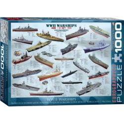 WW II Warships, Eurographics 1000stukjes