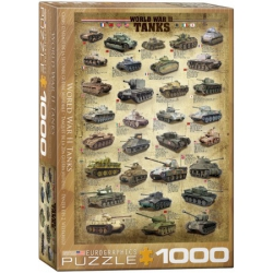 World War II Tanks, Eurographics 1000stukjes