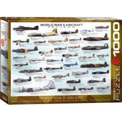 World War II Aircraft, Eurographics 1000stukjes