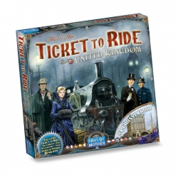 Ticket to Ride: United Kingdom & Pennsylvania - Bordspel, Asmodee
