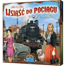 Ticket to Ride: Polska - Bordspel, Asmodee