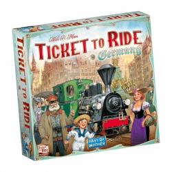 Ticket to Ride: Germany - Bordspel, Asmodee