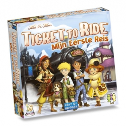 Ticket to Ride: Mijn Eerste Reis- Bordspel, Asmodee
