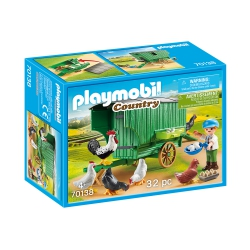 Playmobil Country 70138 Kind met kippenhok