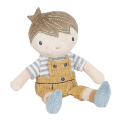 Knuffelpop Jim 10cm Little Dutch