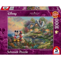 Mickey & mini Disney Kinkade 1000 stukjes