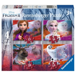 Frozen 2 4in1box 12/16/20/24p Ravensburger