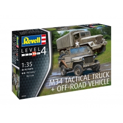 Revell M34 Tractical truck & Off-road vehicle