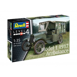 Revell Model & 1917 Ambulance