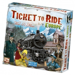 Ticket to Ride: Europe - Bordspel, Asmodee