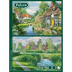 Riverside Cottages, Falcon 2x 500 stukjes