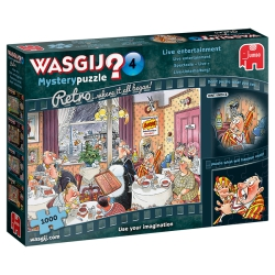 Wasgij Retro mystery 14 Live entertainment 1000 stukjes