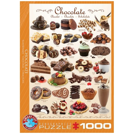 Chocolate, Eurographics 1000stukjes