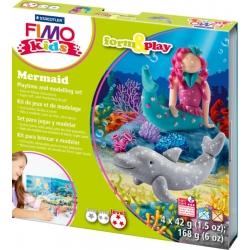 Fimoklei Vorm en play Mermaid, Fimo kids