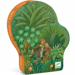 Djeco - Silhouette Puzzel: De Jungle