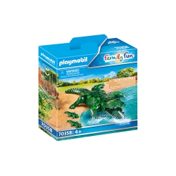 Playmobil - Zoo 70358 - Alligator met baby