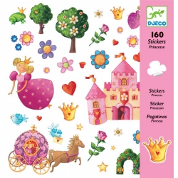 Djeco - Stickers - Prinses Marguerite