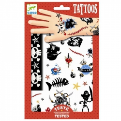 Djeco - Tattoos - Piraten