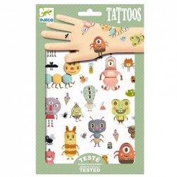 Djeco - Tattoos - Monsters