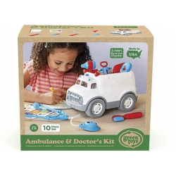 GreenToys Ambulance/Doktersset