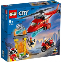LEGO CITY - 60281 Fire Rescue Helicopter
