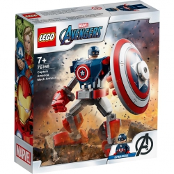 LEGO MARVEL AVENGERS - 76168 Captain America Mech Armour