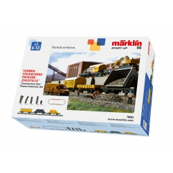 "Märklin-H0 Start up, Thema-uitbreidingsset ""Bouwplaats"", 78083"