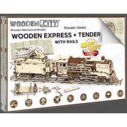 Wooden express and tender- Wooden City